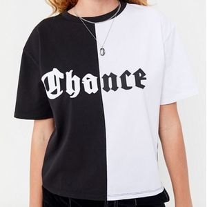 "Urban Outfitters ""Chance"" Spliced T-shirt"